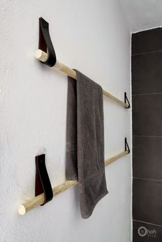 Hege in France: Tuesday Tips - DIY Towel holder
