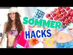 8 coole SOMMER HACKS! Abkühlen, Sonnen-Tattoos, Cola-Slushy...♡ BarbieLovesLipsticks - YouTube