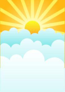 Rising Sun clip art - vector clip art online, royalty free & public domain