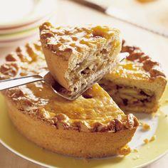 Appel-walnoten pie