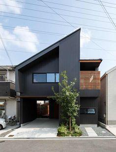 Bedroom Minimalist, Modern Minimalist House, Small Modern Home, Small Modern House Exterior, Minimalist Interior, Design Exterior, Roof Design, Design Art, Facade Design