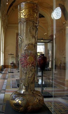 Art Nouveau vase by Emile Gallé - Petit Palais Collection … | Flickr