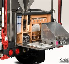 Like the kitchen part-not so sure bout the rest of the trailer though. Campa USA | All Terrain Trailers | Camping Trailer | att