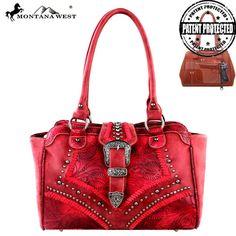 Montana West Concealed Carry Collection Handbag (MW211G-8250) – Handbag-Addict.com