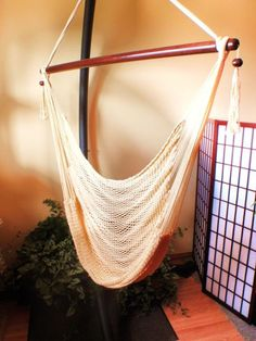 Mayan Hammock Chair with Universal Chair Stand
