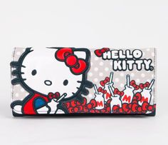 Hello Kitty Long Wallet: Milk