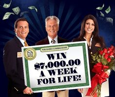 a week for life gwy # 13000 and dollars from gwy # 18000 plus from gwy # 12479 prize number 8679755345 Instant Win Sweepstakes, Online Sweepstakes, Win For Life, Winner Announcement, Congratulations To You, Publisher Clearing House, Winning Numbers, Win Prizes, Cash Prize