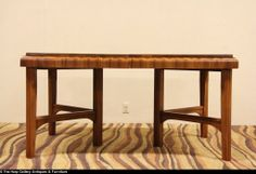 Antique Art Deco Waterfall Dining Room Table Amp 6 C