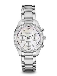 Caravelle New York Womens 43L159 Analog White Dress Watch *** Check out this great product.