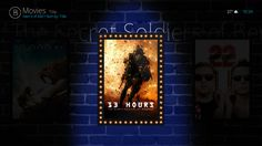 Bello 6 UI for Kodi.tv - Posters View
