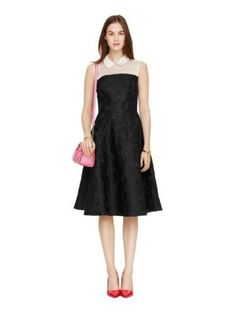 collared fit and flare dress - kate spade new york