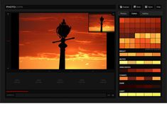 PHOTOCOPA - Create color palettes from your uploaded photos