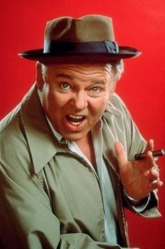 """The creators of """"All in the Family"""" intended Archie Bunker to be a parody of close-minded ness in Americans. To their surprise, many people in the U. adopted Bunker as their hero. Radios, Carroll O'connor, Archie Bunker, All In The Family, Real Family, Old Shows, Classic Tv, Back In The Day, New Movies"""