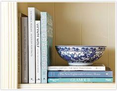 Annette's 7 Golden Styling Rules for a Bookshelf