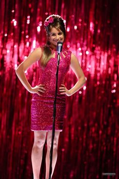 "Rachel Berry performing in ""What The World Needs Now"""