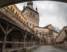 Medieval town in Romania - Sighisoara