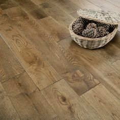 Florence Smoked Oak Brushed and Lacquered Solid Flooring - Solid Wood Flooring, Timber Flooring, Flooring Options, Hardwood Floors, Flooring Ideas, Floors Direct, Floor Finishes, Floor Rugs, Interior Inspiration