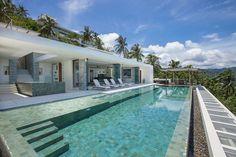 architecture Villa Koh Samui Contemporary Holiday Villa in Koh Samui Offering Spectacular Coastal Views of Thailand