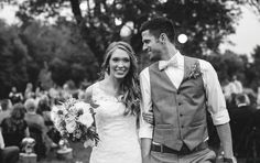 Sweet picture as man and wife. See more from this rustic barn wedding in Nashville at Lilac Farms at Arrington Vineyards! Pics: Ulmer Studios | The Pink Bride www.thepinkbride.com