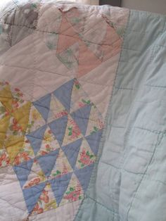 #shopkick #TreatYourself @shopkick  vintage quilts! The smell, the love that went into hand quilting, the history behind them...It's beauty at it's best and a treat.