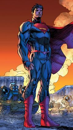 Superman New 52 I don't post enough superman.Rebirth: Superman by Jim Lee, colours by Alex Sinclair * ®. Marvel Comics, Arte Dc Comics, Hq Marvel, Captain Marvel, Dc Heroes, Comic Book Heroes, Comic Books Art, Comic Art, Superman News
