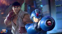 Ryu and Megaman #marvelvscapcominfinite #marvelcomics #capcom #streetfighter #megaman
