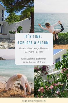 It´s time. Budget Travel, Travel Ideas, Flow Training, Greece Islands, Little Island, April 1st, Pranayama, Yoga Retreat, Good Thoughts