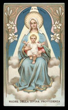 Our Lady and the Divine Infant