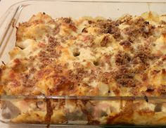 Ginny's Low Carb Kitchen: CHICKEN CORDON BLEU-WICH CASSEROLE