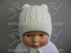 Детские шапки для новорожденных и до года