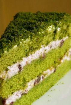 Wholemeal Green Tea Cake