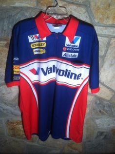 XL Scott Riggs Evernham Valvoline Team Issued Nascar Pit Crew Shirt RPM