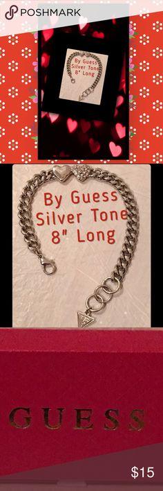 "Guess Bracelet. Tones, Gold, Silver & Copper Silver Tone. 8"" Guess Jewelry Bracelets"