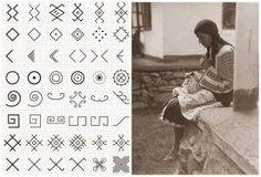 Stitch pattern for the Romanian blouse (ie) Thunder And Lightning, The Rite, Viking Age, Kids Hands, Summer Solstice, I School, School Projects, Art Techniques, Cross Stitch Patterns
