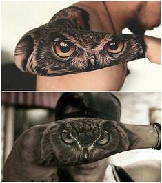 Tatoo Kittens kittens need a home Tigeraugen Tattoo, Owl Eye Tattoo, Epic Tattoo, Badass Tattoos, Lion Tattoo, Tattoo Drawings, Tiger Eyes Tattoo, Forearm Tattoos, Body Art Tattoos