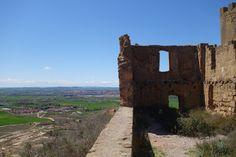 Quicena y Huesca desde el Castillo de Montearagón