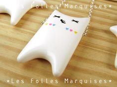 Cute pendant for big and little girls.  on DaWanda
