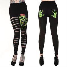 zombie leggings!