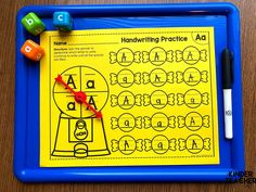 Here are some of the best ways to teach handwriting for beginners. Teaching Handwriting, Handwriting Activities, Nice Handwriting, Letter Activities, Handwriting Practice, Writing Center Kindergarten, Kindergarten Special Education, Kindergarten Worksheets, Guided Reading Lessons