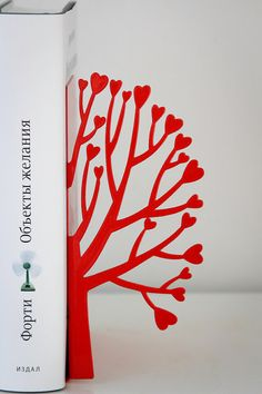 Bookends - laser cut  metal bookends - 34€