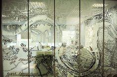 glass wall foil text - Google-søk