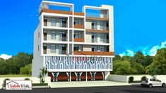 Floor Design, House Design, Car Parking, Modern Design, House Plans, Commercial, Multi Story Building, Exterior, Flooring