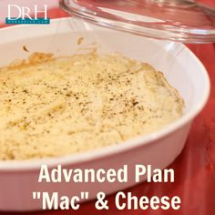 "Advanced Plan ""Mac"" & Cheese #glutenfree #maximizedliving http://DrHardick.com"