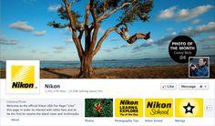 Nikon Facebook Brand Page Cover Photos