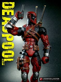 Loosecollector Custom Action Figures: Deadpool : Olivetti style