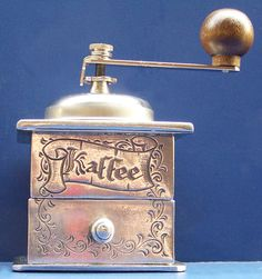 Pewter Coffee Mill