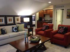 Promenade Bonus Suite Living Room Area, and showing optional Kitchenette