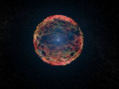 Sistema binario di un raro tipo di supernova. L'esplosione della supernova Sn 1993J è stata provocata dall'interazione di due stelle (Olycom).