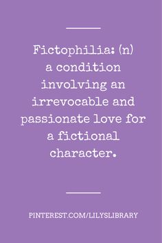 Book boyfriends – Love fictional characters