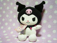 Sanrio Kuromi Plush Cosplay My Melody Ear moving hat F//S